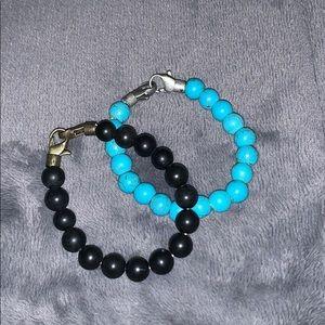 Double Clasp Stretchy Bracelets